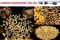 7x LAMPKI NA CHOINKĘ 100 LED BIAŁE CIEPŁE!