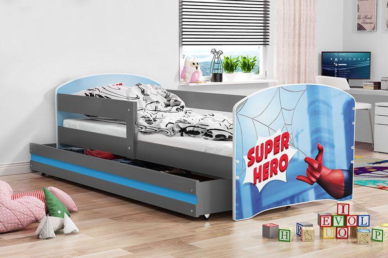 łóżko łóżka Dla Dzieci Luki Dziecięce 160x80 Szuflada