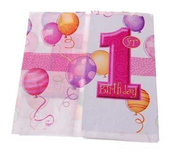 OBRUS NA ROCZEK, pierwsze urodziny, DEKORACJE