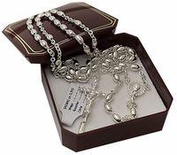 Różaniec Srebrny , Srebro pr. 925 / - 50 %