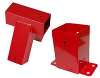 ZESTAW łączników do belki 90x90mm 90° łącznik ścienny+łącznik do belki