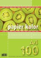 """PAPIER KSERO A4""""100 CZERWONY KRESKA"""