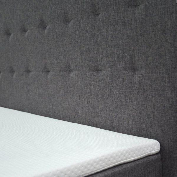 Łóżko kontynentalne 160 Paris z podwójnym materacem bonellowym zdjęcie 3