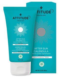 Attitude, After Sun żel nagietkowy Mint & Cucumber 150 g