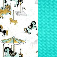 Wkładka Do Wózka Aqua Funfair- Velvet Lanila wyprawka dla dziecka