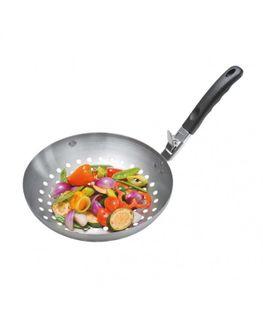 Wok do grillowania warzyw z odpinanym uchwytem BBQ Gefu