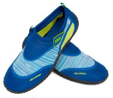 Buty do wody AQUA SHOE MODEL 2 35-45 Rozmiar - Obuwie plażowe - 43, Kolor - Obuwie plażowe - Model 2 - C - niebieski / zielony
