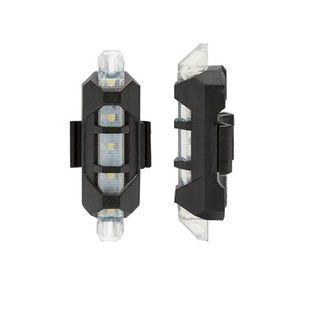 LAMPKA LED przód biała ROWER ROWEROWA ładowana USB