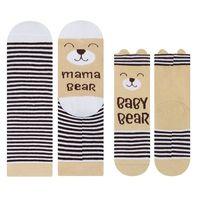 "Komplet skarpetek dla mamy i dziecka - ""Bear"""