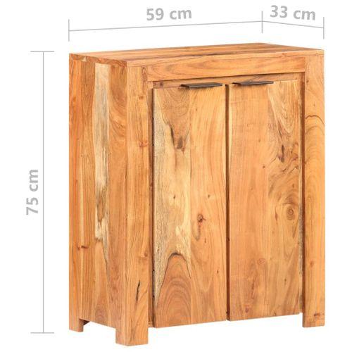 Szafka 59x33x75cm lite drewno akacjowe VidaXL na Arena.pl