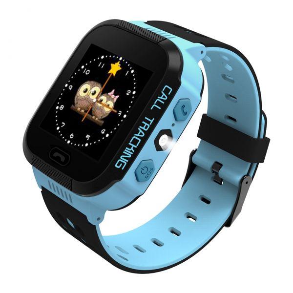 Zegarek smartwatch dla dzieci z lokalizatorem GPS KIDS SOS - niebieski zdjęcie 3