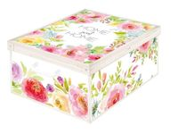 Pudełko dekoracyjne kartonowe MAXI HOME SWEET HOME 48191000