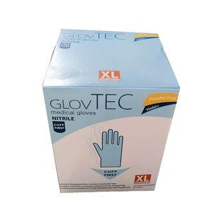 GlovTec Rękawiczki nitrylowe fioletowe 250szt. Rozmiar - S
