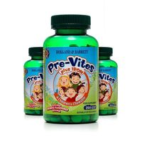 Zestaw 2+1 (Gratis) PreVites Multiwitamina z Żelazem 250 Tabletek do Żucia