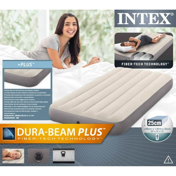 Intex Materac dmuchany Deluxe Single High, 64707 zdjęcie 5