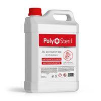 PolySteril żel antybakteryjny i przeciwwirusowy do higieny rąk (5l)