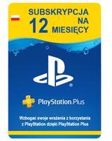 Sony PlayStation Plus 12 miesięcy PSN 365 dni Rok