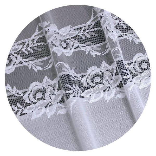 Firanka Oriana 300 X 160 Cm Biały Firany Gotowe Wn3420 300 A
