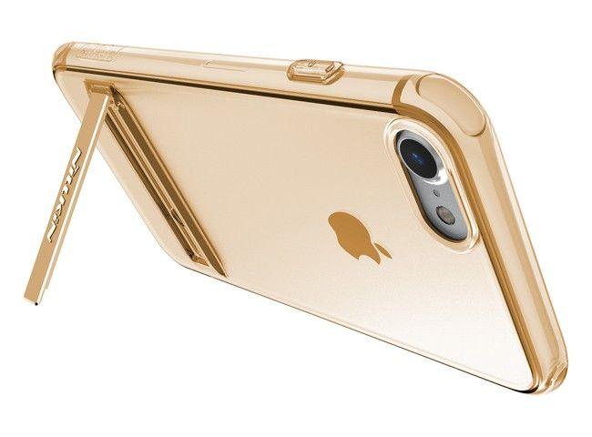 Etui Nillkin Crashproof II TPU do Apple iPhone 7 Kolor - Złoty zdjęcie 3