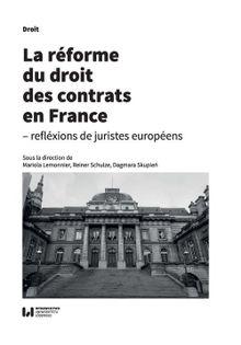 La reforme du droit des contrats en France