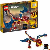 LEGO Creator Smok ognia 3w1 31102