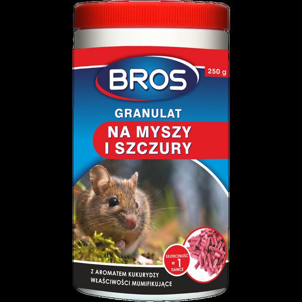 BROS Granulat na myszy i szczury 250G Trutka na Arena.pl