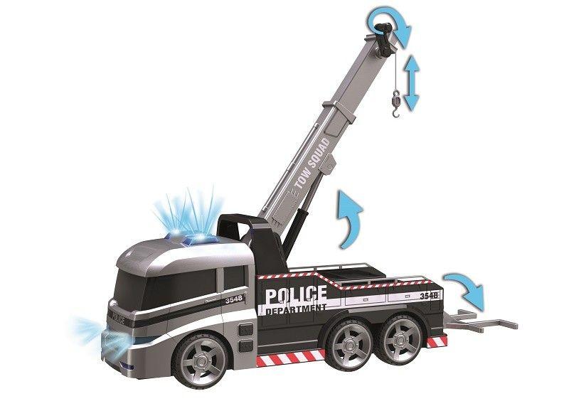 DUMEL Flota miejska Ciężarówka policyjna zdjęcie 2