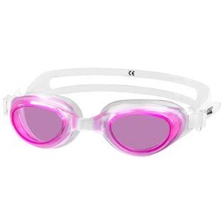Okulary pływackie AGILA Kolor-Okulary - 27 - transparent / różowe szkła