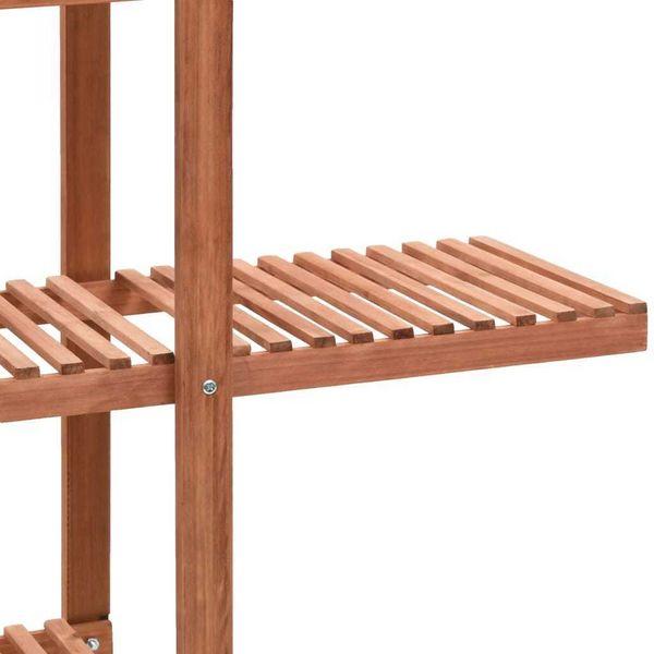 Regał Na Rośliny Z Drewna Cedrowego, 86 X 36 X 139 Cm zdjęcie 4