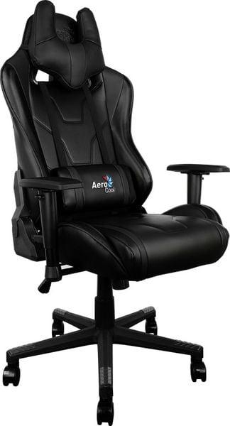 Aerocool Fotel Gamingowy AC-220 BLACK / BLACK na Arena.pl