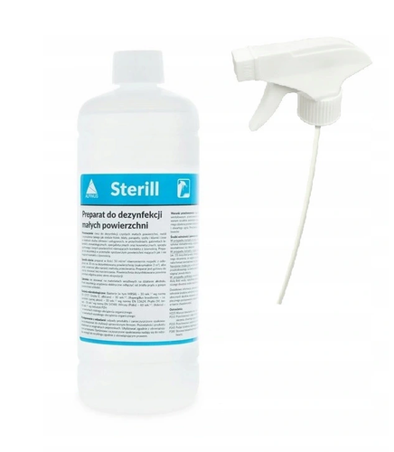 Sterill preparat do dezynfekcji powierzchni 1 l + spryskiwacz na Arena.pl