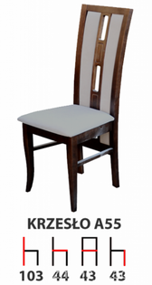 Krzesła Krzesło Tanio A55 Producent  Drewniane Bukowe