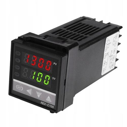 Sterownik Regulator Temperatury REX C100 230 RELAY na Arena.pl