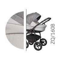 Baby Merc ZipyQ  3w1 wózek dziecięcy wielofunkcyjny szary Typ kół - Futuro