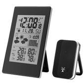 Stacja pogody termometr higrometr zegar budzik bezp METEO swe