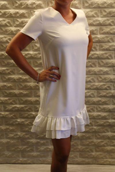 5d15b71f77 Biała damska sukienka Loci rozmiar M zdjęcie 1 ...