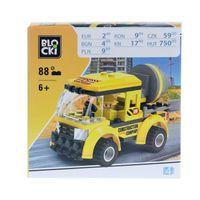 PEPCO - Klocki blocki (72 elementy) żółty