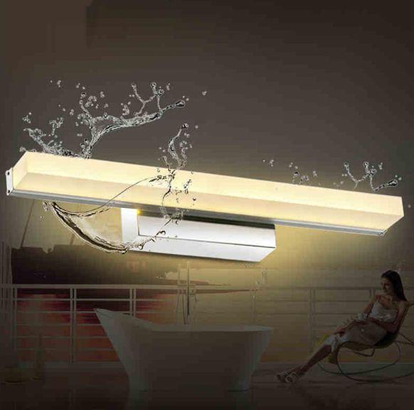 Minimalistyczna lampa nad lustro Kinkiet łazienkowy LED 50 cm 12W zdjęcie 3