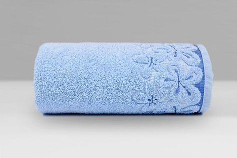Ręcznik Bella 70x140 Greno NIEBIESKI