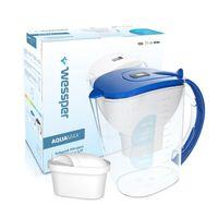 Wessper AquaMax 3,5l niebieski dzbanek filtrujący do wody z filtrem