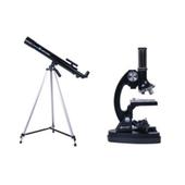 Zestaw OPTICON ScienceMaster: Teleskop + Mikroskop