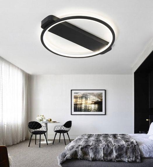 Lampa sufitowa Wobako LEO II ring PLAFON okrąg żyrandol 52cm LED na Arena.pl