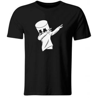 Koszulka dziecięca Marshmello Dab, czarna, roz. 104