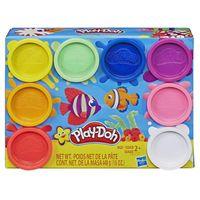 Masa plastyczna PlayDoh 8-pak kolorów Tęcza