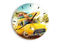 Zegar Ścienny - Podróż Na Wakacje - 30X30 Cm - C3Ar30X30-2839