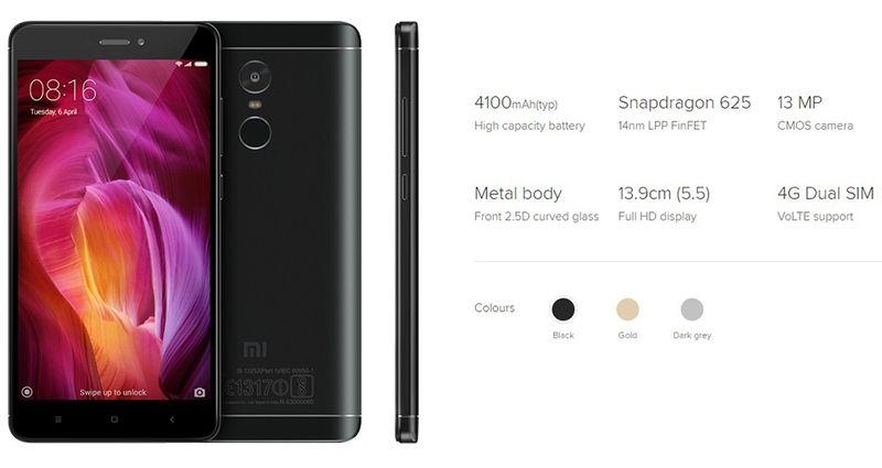 Xiaomi Redmi NOTE 4 PRO Snapdragon 3/32GB GD zdjęcie 2