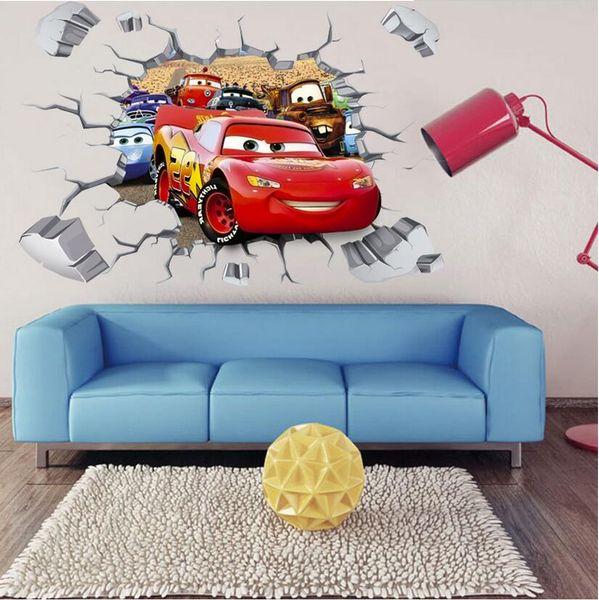 Naklejki Na ścianę ścienne Auta Cars Zygzak Ws 0214 Arenapl