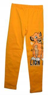 Legginsy Lion, bawełna roz.128