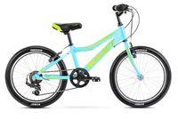Rower Romet Rambler 20 KID 1 niebiesko zielony żółty12