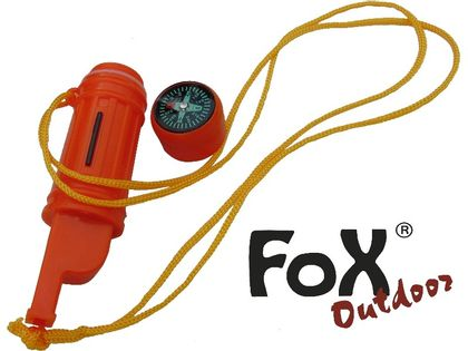 ZESTAW PRZETRWANIA 5w1 ORANGE FOX Outdoor